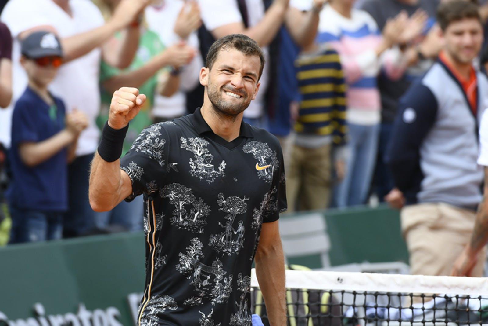 Grigor Dimitrov - Roland-Garros 2019