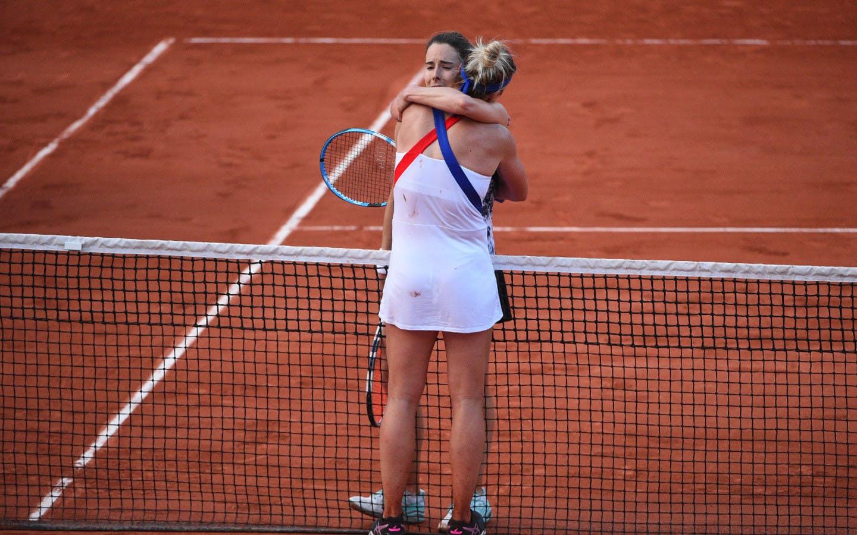 Roland-Garros 2018, Pauline Parmentier, Alizé Cornet