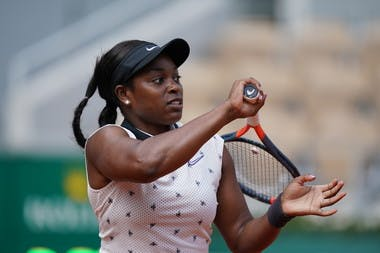 Sloane Stephens second round 2019