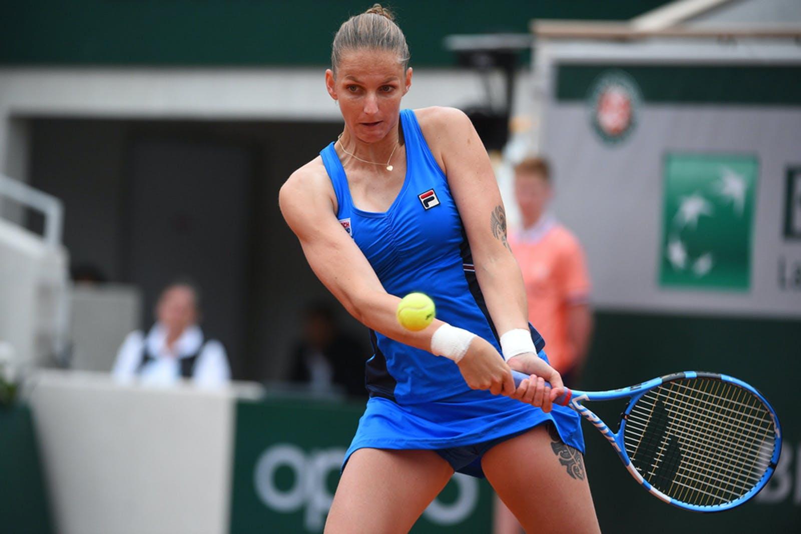 Roland-Garros 2019 - Karolina Pliskova - 1er tour