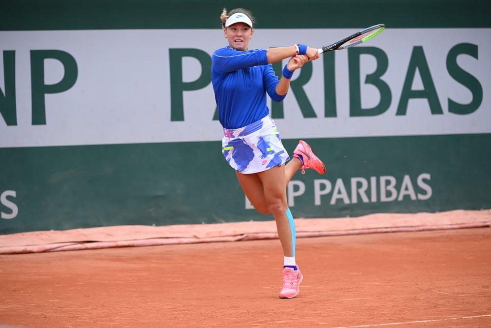 Oksana Selekhmeteva, Roland Garros 2020, girls singles
