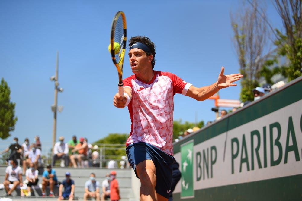 Marco Cecchinato, Roland Garros 2021, first round