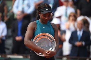 Roland-Garros 2018, finale, Sloane Stephens