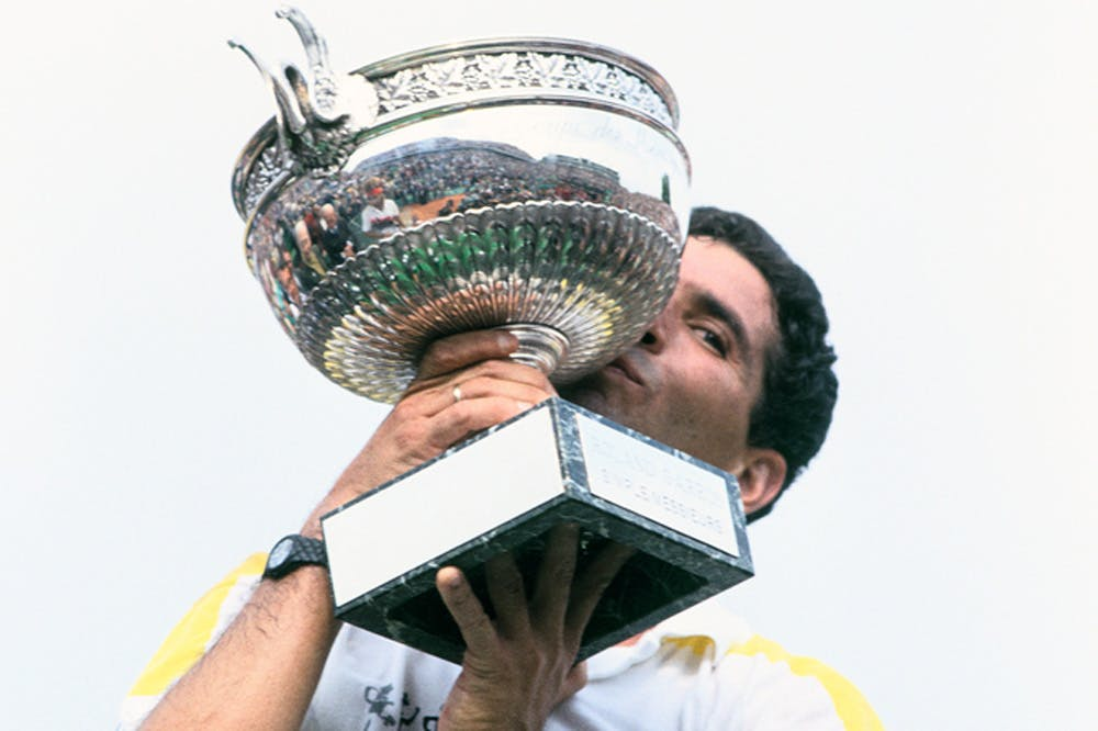 Andres Gomez, Roland Garros 1990