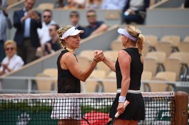 Angelique Kerber, Anastasia Potapova s, 1er Tour