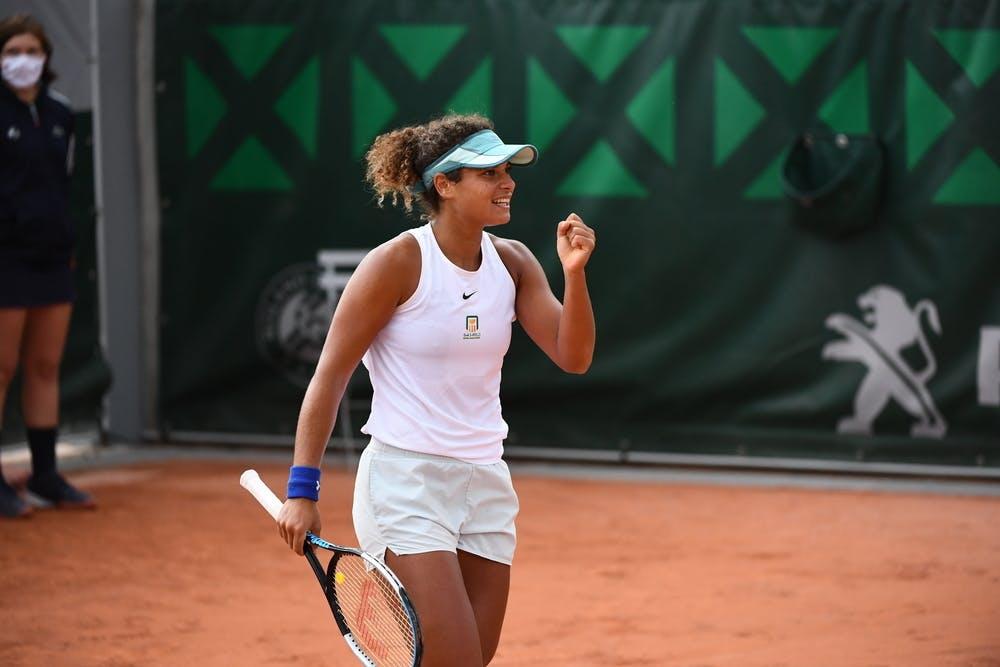 Mayar Sherif, Roland-Garros 2020, qualifying final round