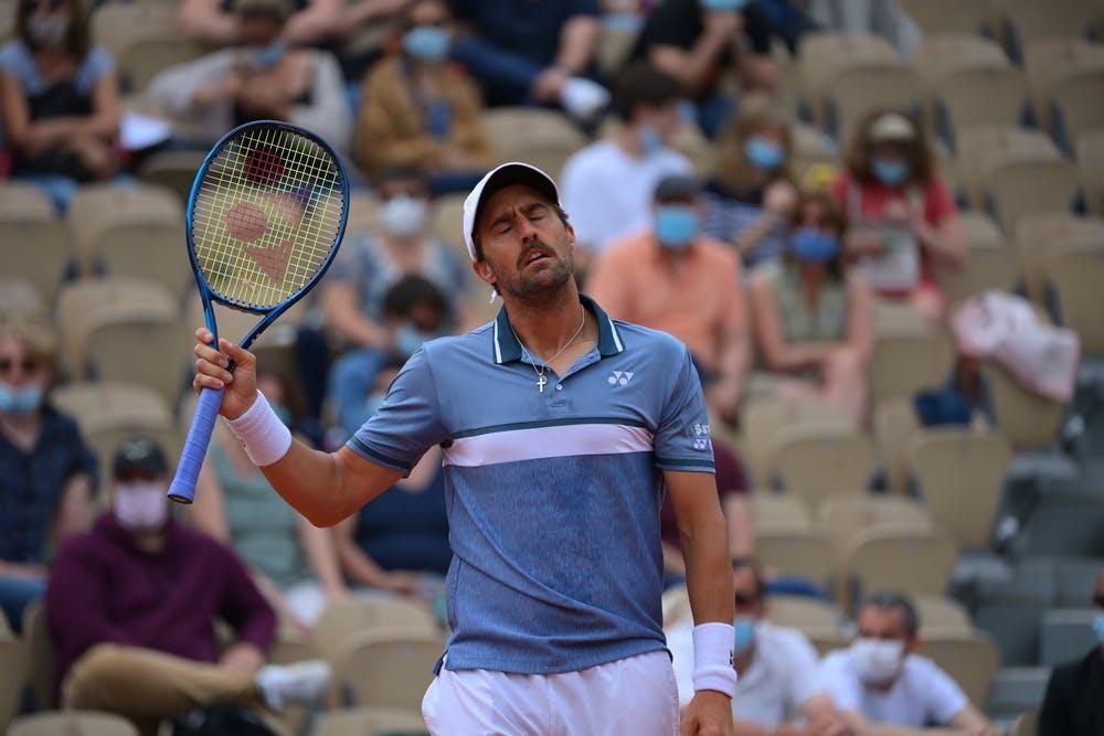 Steve Johnson, Roland-Garros 2021, third round