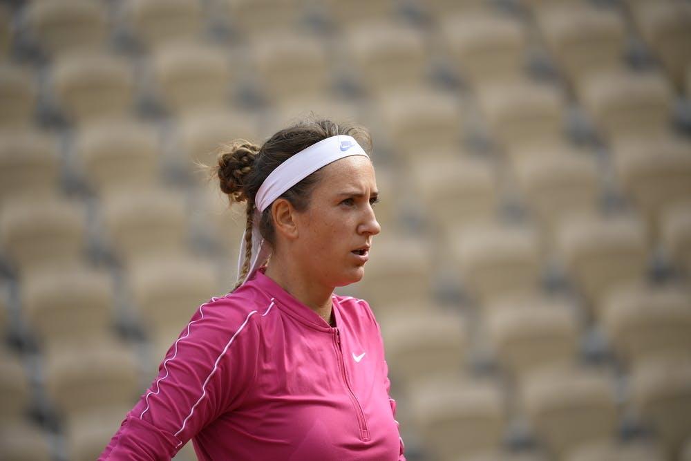 Victoria Azarenka, Roland Garros 2020, second round
