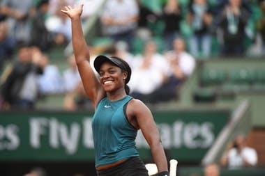 Sloane Stephens Roland-Garros 2018.