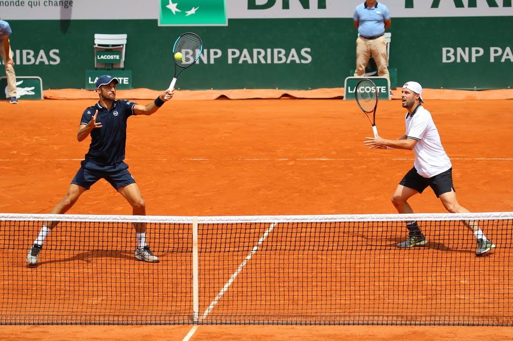 Mate Pavic et Oliver Marach Roland-Garros 2018
