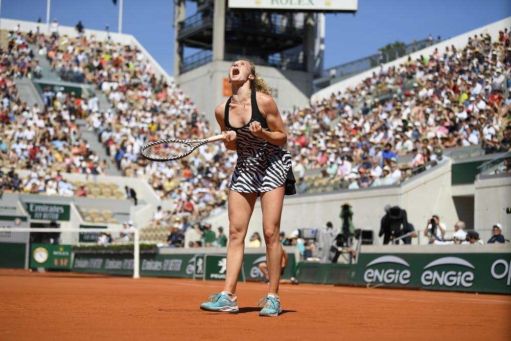 Katerina SIniakova - Roland-Garros 2019 - 3e tour