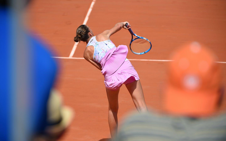 Karolina Pliskova, Roland Garros 2018, Simple Dames, 2eme Tour