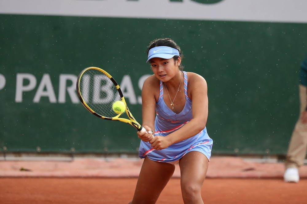 Alex Eala, Roland Garros 2020, girls singles