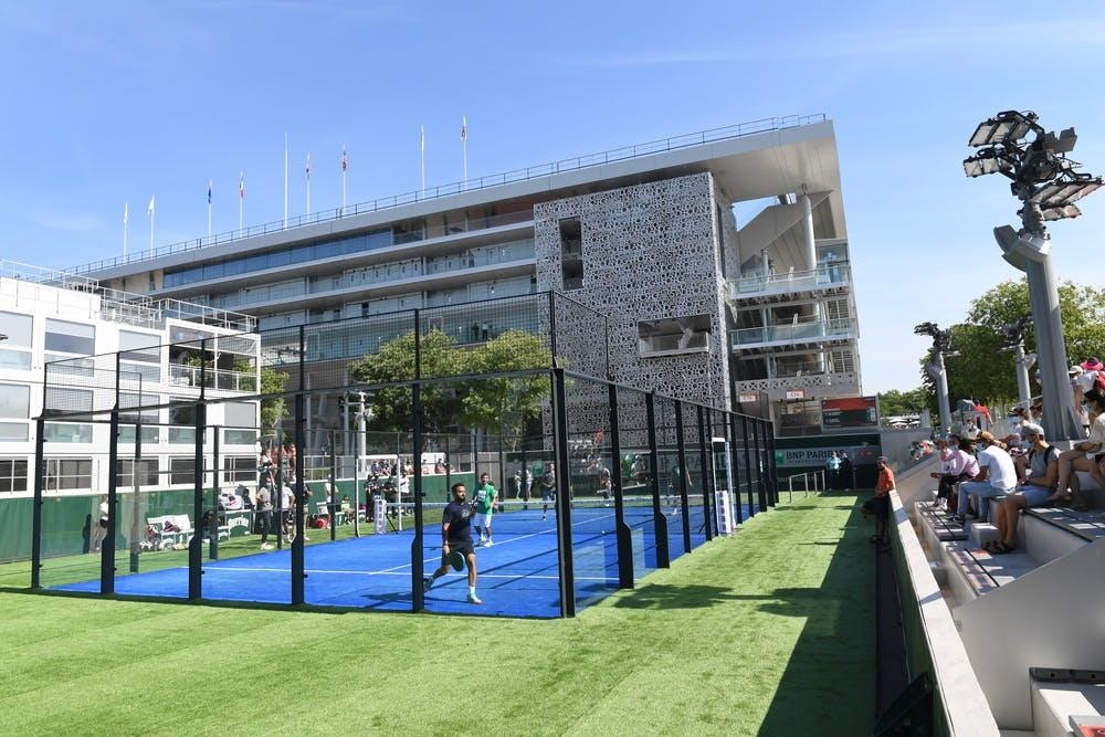 Padel court, Roland-Garros 2021