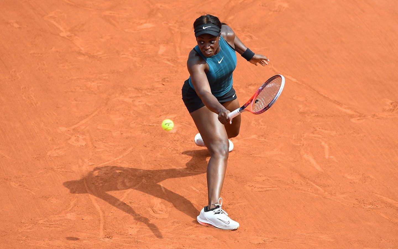 Sloane Stephens, Roland-Garros 2018.