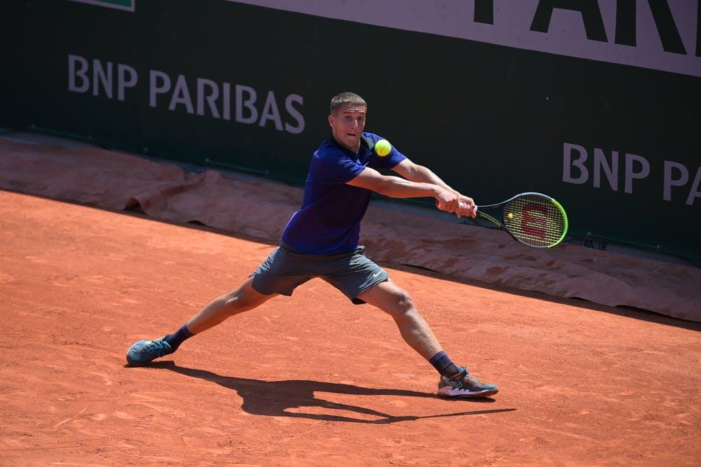 Sean Cuenin, boys singles, Roland-Garros 2021, last 8