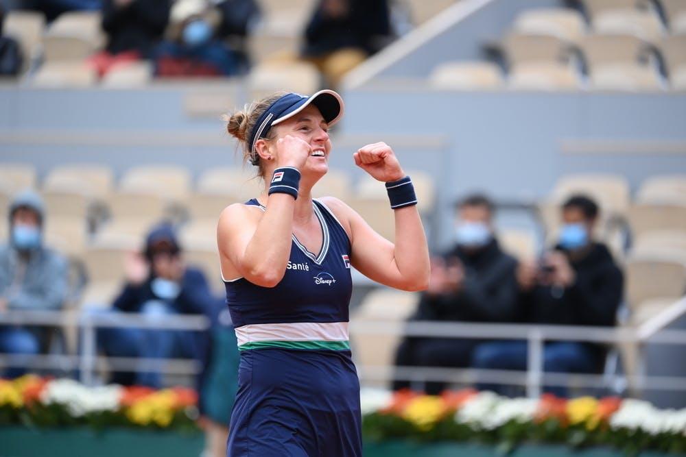 Nadia Podoroska, Roland Garros 2020, quarter-final