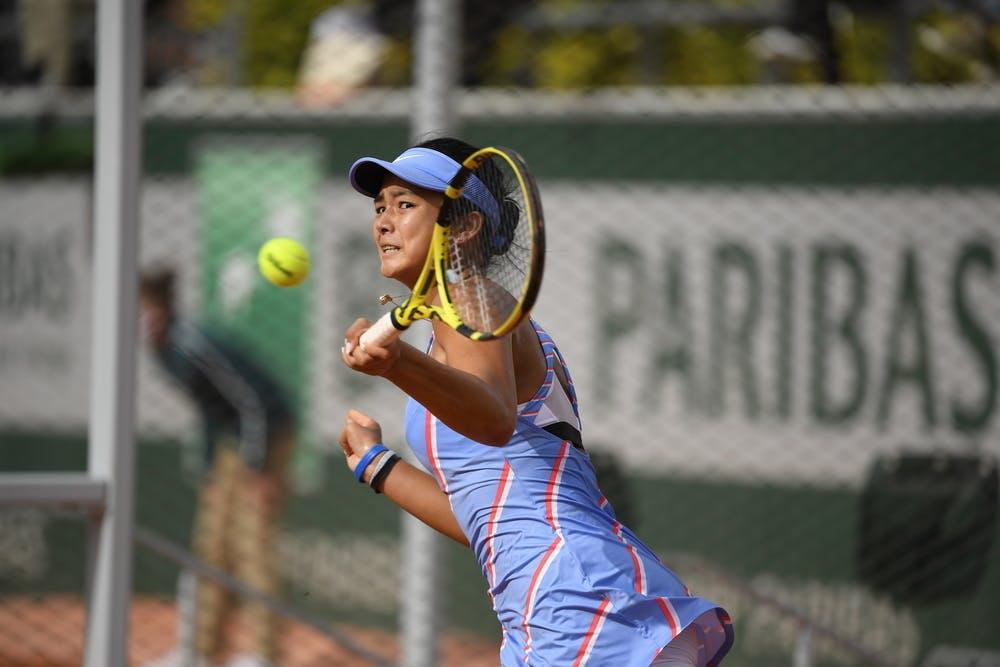 Alexandra Eala, Roland Garros 2020, quarter-finals