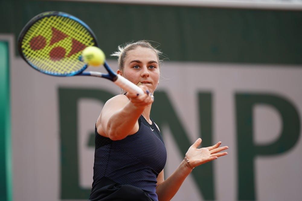 Marta Kostyuk, Roland Garros 2021, third round