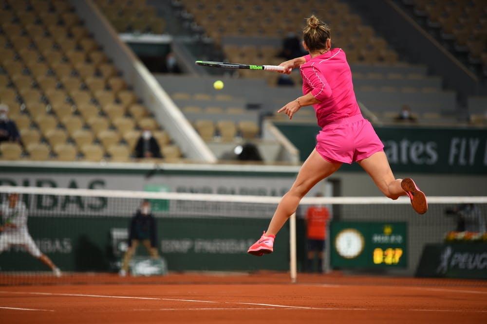 Simona Halep, Roland Garros 2020, fourth round