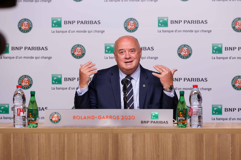 Bernard Giudicelli, Roland-Garros 2020, conférence de presse, bilan tournoi