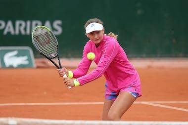 Victoria Jimenez Kasintseva, Roland Garros 2020, juniors