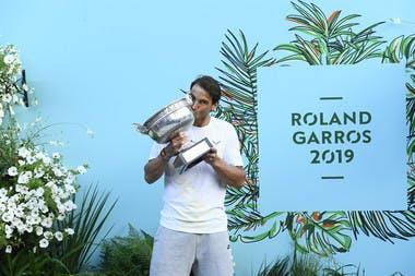 Rafael Nadal Roland-Garros 2019 Trophée