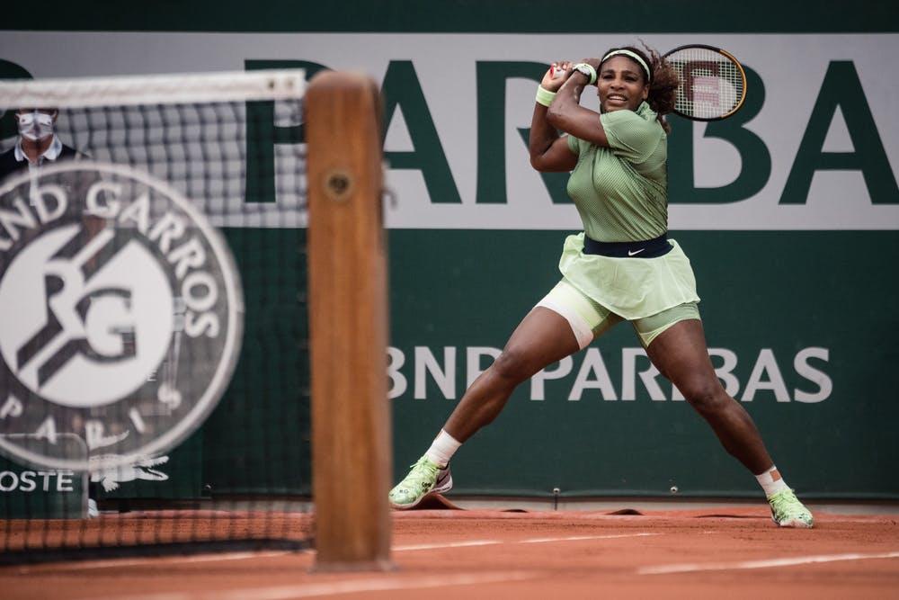 Serena Williams, Roland-Garros 2021, second round