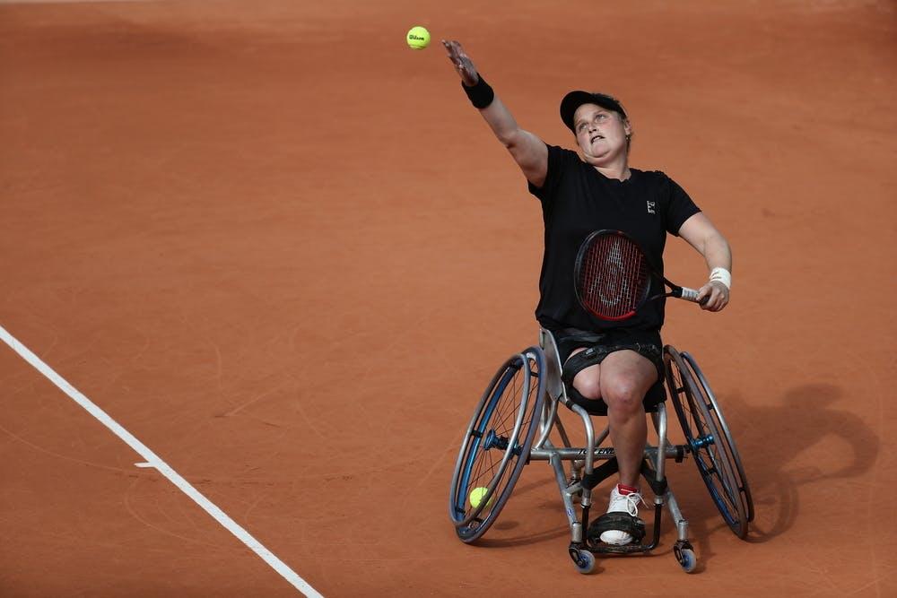 Aniek van Koot, Roland Garros 2020, Women's Wheelchair Singles quarterfinals