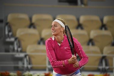 Petra Kvitova, Roland Garros 2020, fourth round