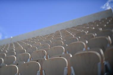 stade Roland-Garros 2018 court Suzanne-Lenglen / Roland-Garros stadium 2018 Suzanne-Lenglen court.