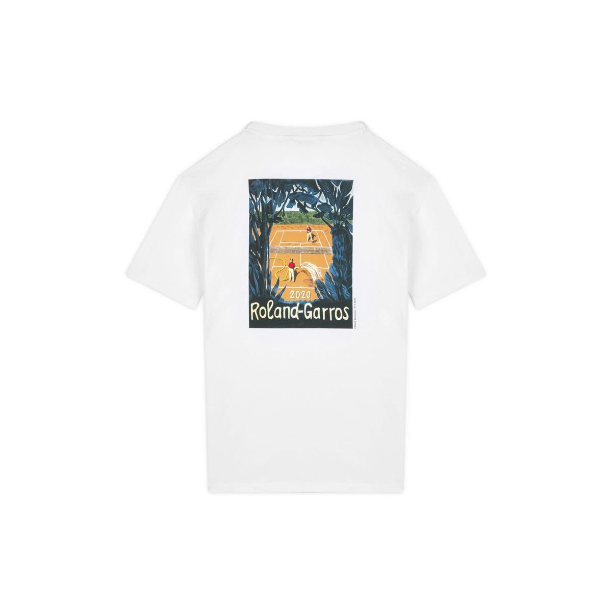 T-shirt affiche officiel Roland-Garros