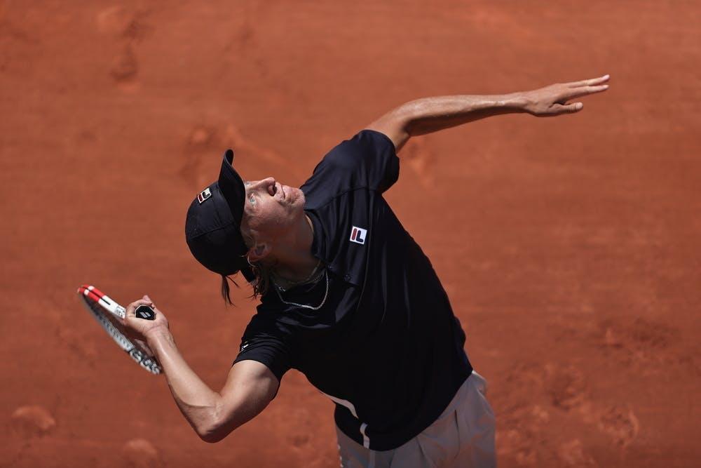 Leo Borg, Roland Garros 2021, boys' singles third round