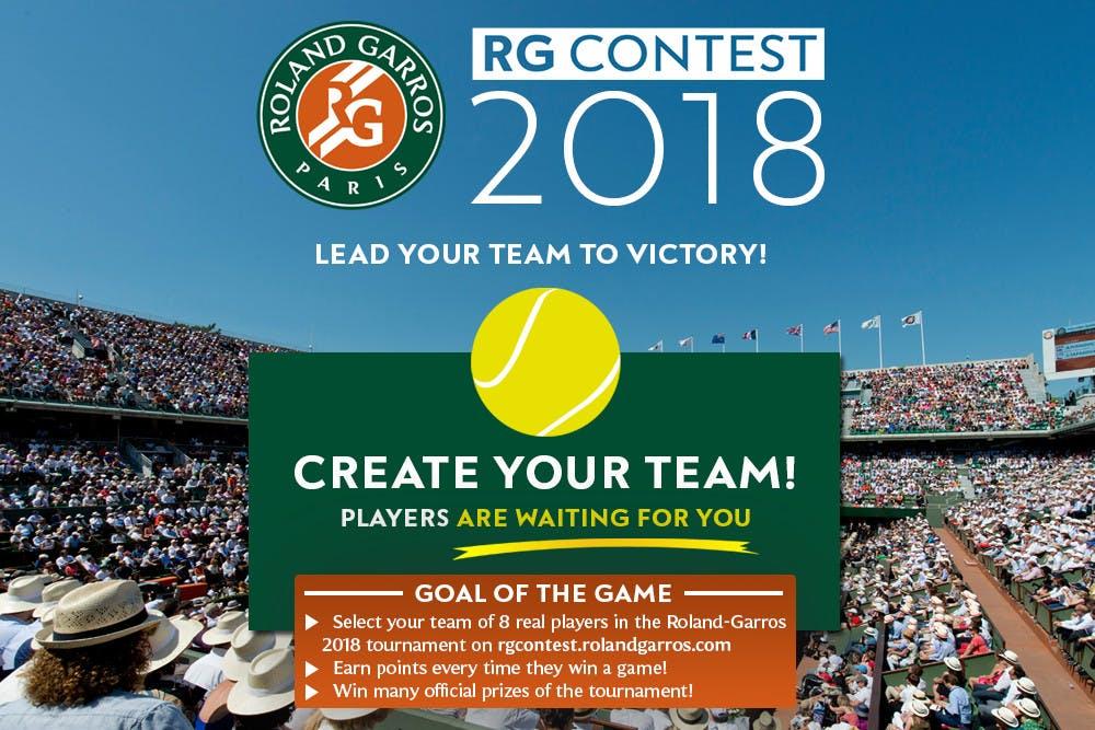 Roland-Garros Contest 2018