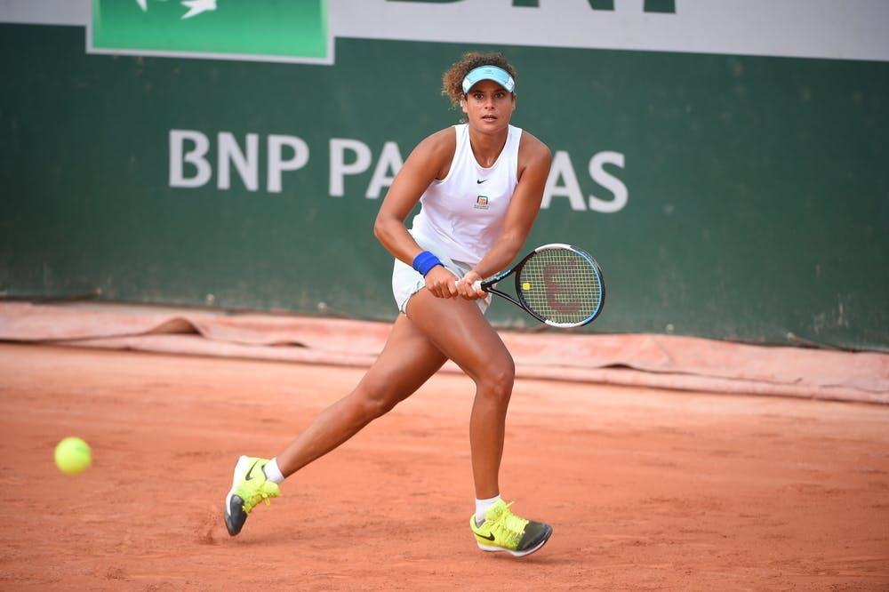 Mayar Sherif, Roland Garros 2020, qualifying final round