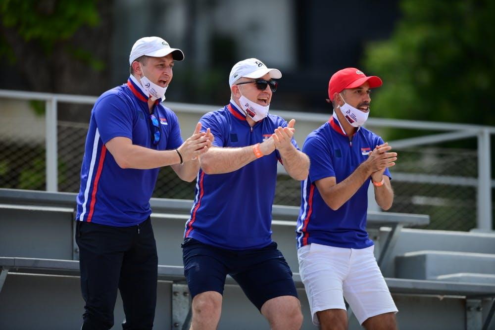 Spectators, Roland-Garros 2021, boys singles second round