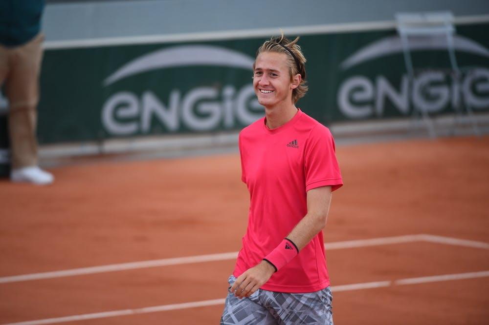 Sebastian Korda, Roland Garros 2020, qualifying third round