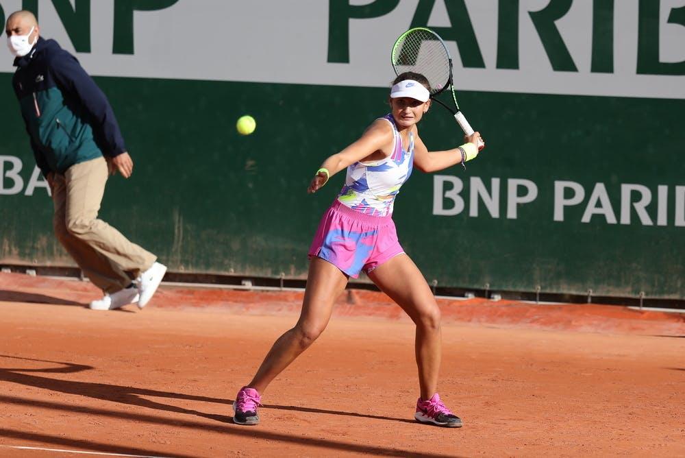 Victoria Jimenez Kasintseva, Roland Garros 2020, girls' singles, second round