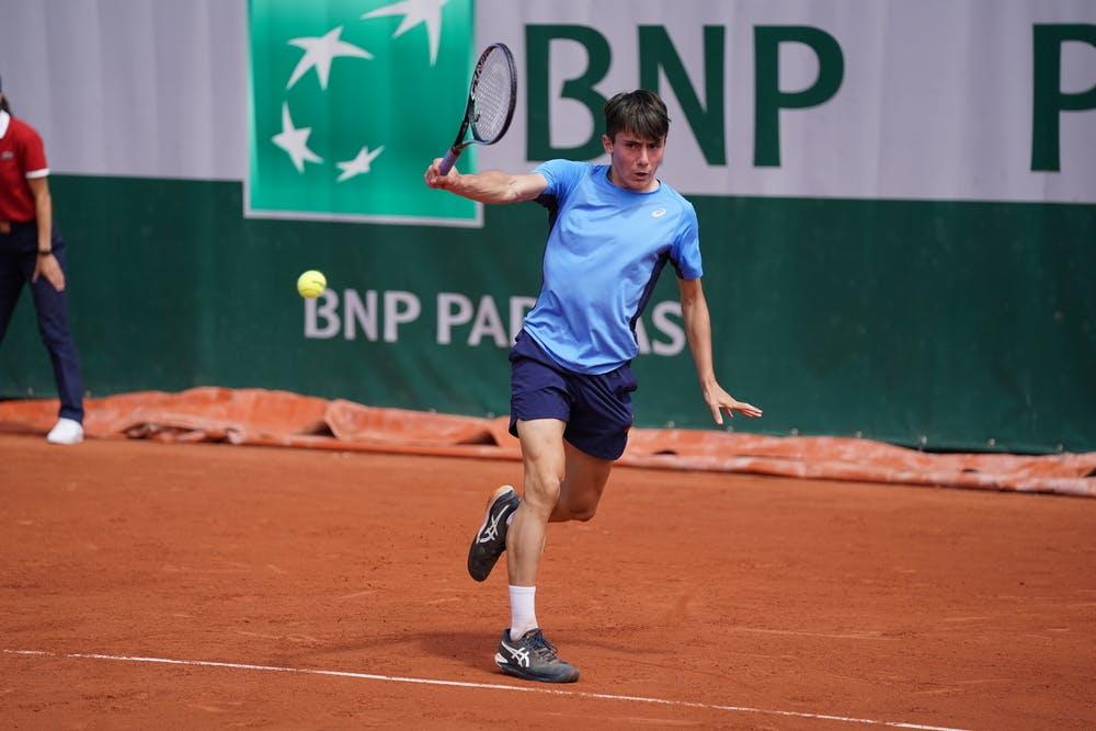 Charlelie Cosnet, Roland-Garros 2021, juniors, 1st round