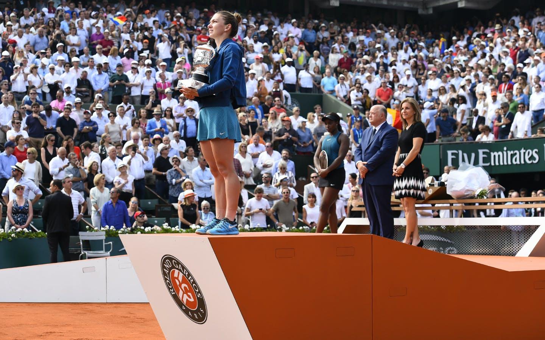 Simona Halep, Roland-Garros 2018