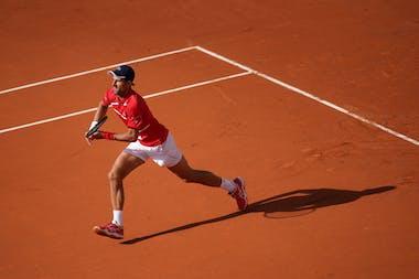 Novak Djokovic, Roland Garros 2020, second round