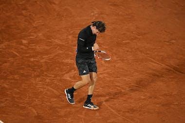 Dominic Thiem, Roland-Garros 2020, 1er tour
