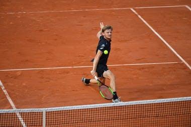 David Goffin Roland-Garros 2018.