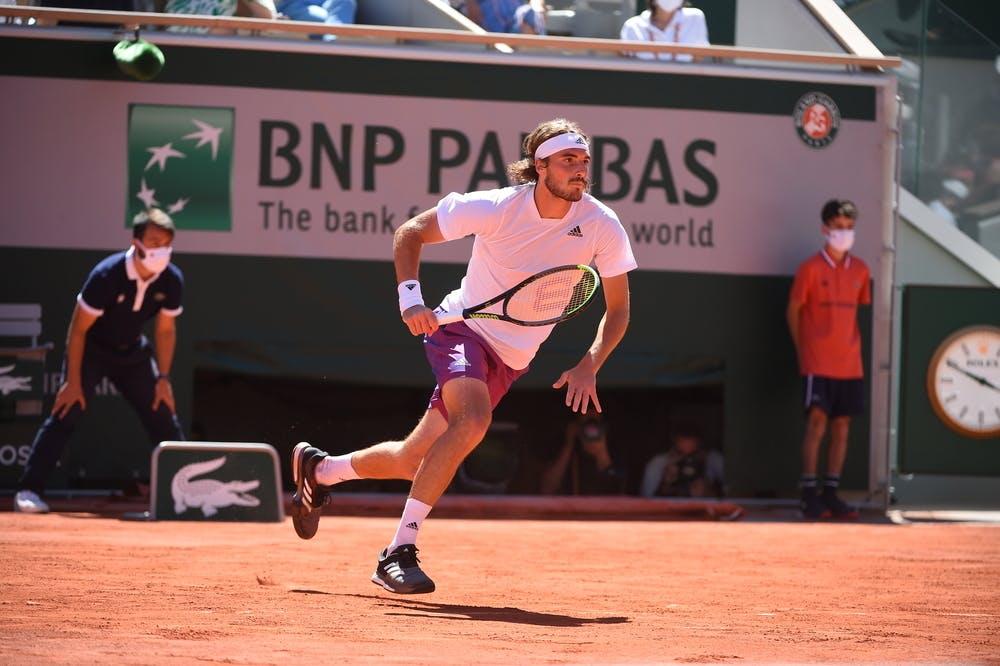 Stefanos Tsitsipas, Roland Garros 2021, final