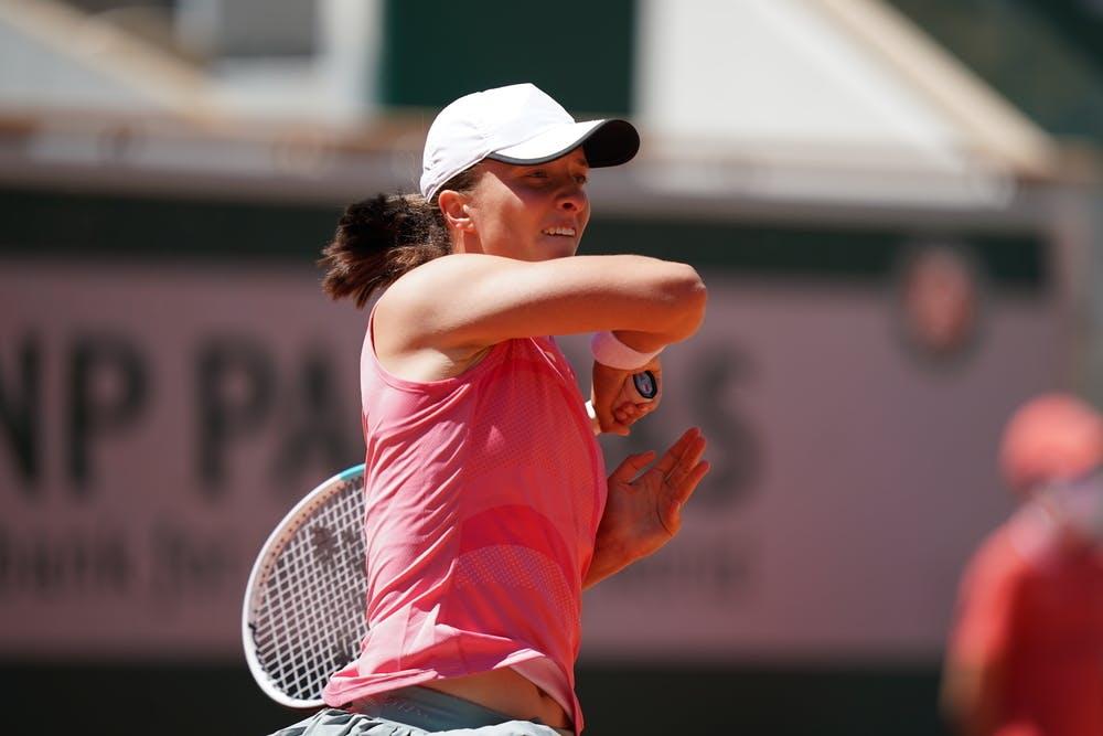 Iga Swiatek, Roland Garros 2021, first round