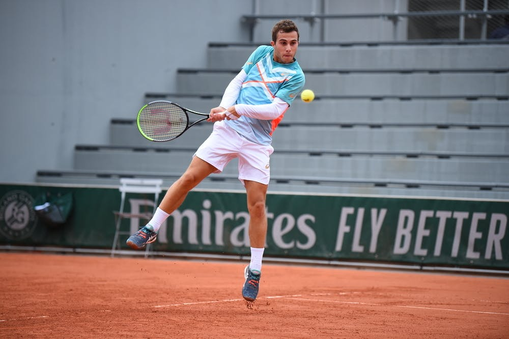 Hugo Gaston, Roland-Garros 2020, 1er tour