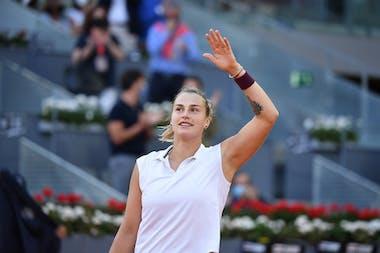 Aryna Sabalenka, final, Madrid 2021