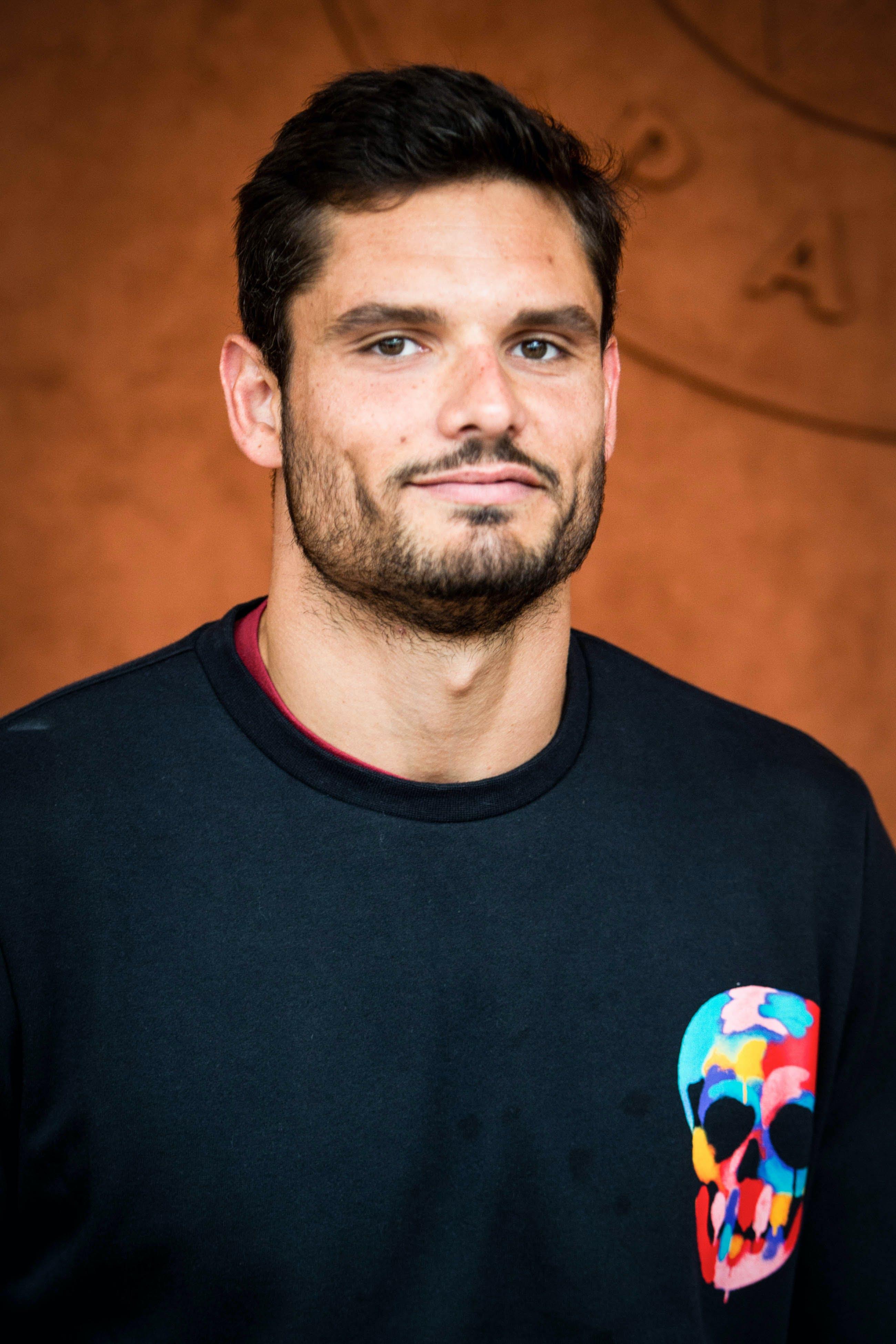 Olympich champion Florent Manaudou Roland-Garros 2019