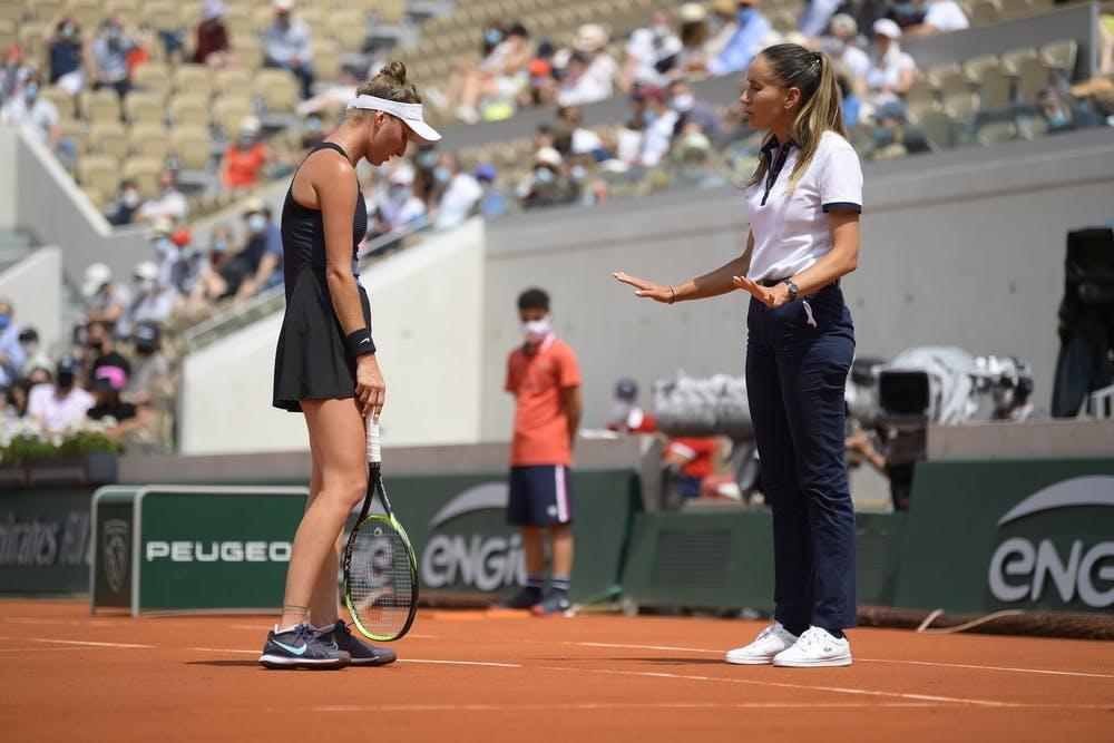 Marketa Vondrousa, Marijana Veljovic, Roland-Garros 2021, last 16