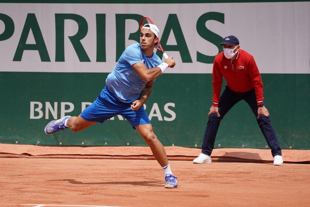 Francisco Cerundolo, Roland Garros 2021, qualifying first round